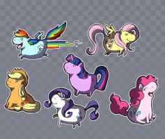 Them Ponies by kangel