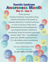 Tourettes Syndrome Awareness by TSsweets