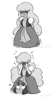Hiding by MudflapArts