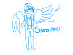 Samandriel by BlueandIce