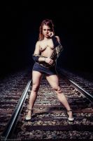 Dead in her Tracks... by BrianMPhotography