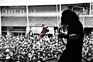 Agung Burgerkill by IDIOTICphotography