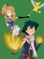 Amourshipping x Fairy Tail by SophieLaurel1