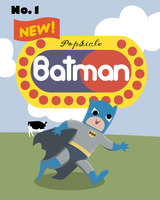 POPSICLE BATMAN by CrazyTree101