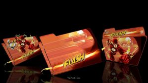 The Flash Comic folders icons by CBDave