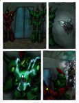 Transwarp  Csirac   Issue  4 Page 4 Ink And Shaded by kalascee