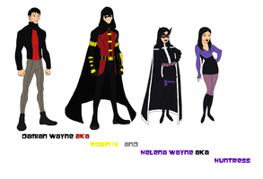 The Wayne Heirs by dcfan0590
