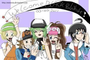 PKMN- Welcome Black and White by Mistynia