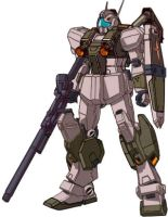 RGM-86RV GM III Semi-Seeker w/Weapons by RedZaku