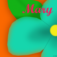 Mary Flower by Tlong2011
