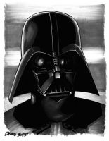 convention sketch 07 DarthVader by DennisBudd