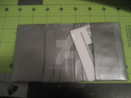 gray duct tape smallet by lokifan50