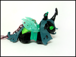 Queen Chrysalis Necklace by GrandmaThunderpants