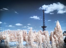 Funkturm Berlin Infrared by MichiLauke