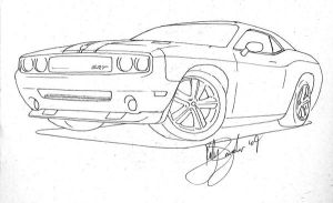2010 Dodge Challenger by dieselart