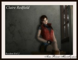 RE2 Claire Redfield by IamRinoaHeartilly