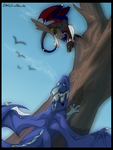 Point com: Two little dragons... by Littleincidents