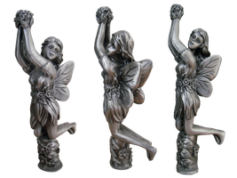 Silver Pewter Fairy Stock Pack by Meta-Stock