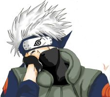 Eat you alive - Kakashi by Hiso-chan