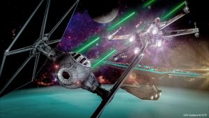 Star Wars Fighters by spidphone