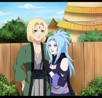 Tsunade and Mikura by S-I-M-C-A