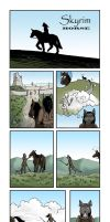 TES: Skyrim. Horse by Amee-J