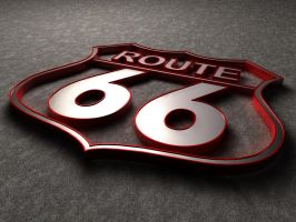 Route 66 by Dead-Ant