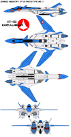 YF-19 Prototype No. 1 by bagera3005