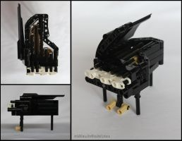 Bionicle MOC: Grand Piano by Rahiden