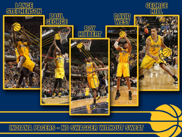 Indiana Pacers 5 Wallpaper by 1madhatter