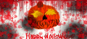 happy holloween. by Wolf-Angel-whitewing