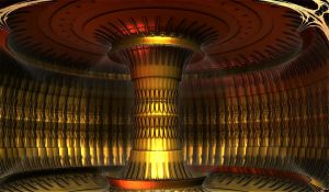 The gold column by luisbc