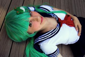 Foreigner from the Human World [Sanae Kochiya] by Mitsuki-Aizawa