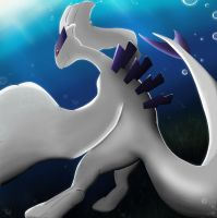 Lugia by Meraence