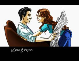 Wisdom and Pryde by rocom