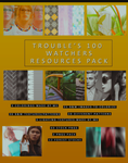 Trouble's 100 watchers resources pack by DarkRainbowIllusion
