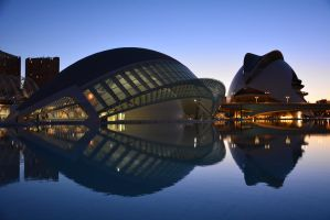 Calatrava by night by FrauleinMuller
