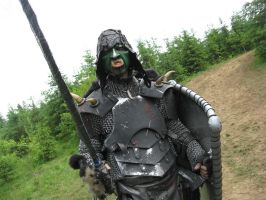 Green Orc costume by gaboury123