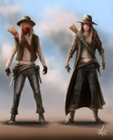 Gunslingers by jjpeabody