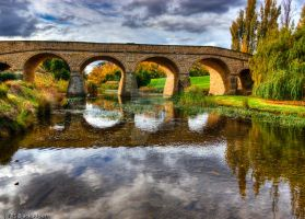 Richmond Bridge Reflections by addr010