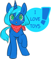 .:I Love Toys!:. by CrayonKat