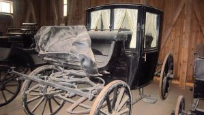 Old black carriage by ShadeOvWarlock