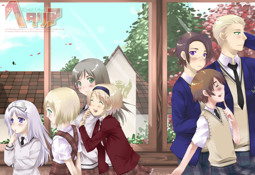Hetalia - Passing Glance by Miochu