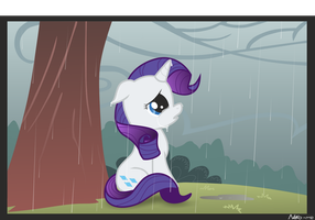 Rarity's tears by Neko-me