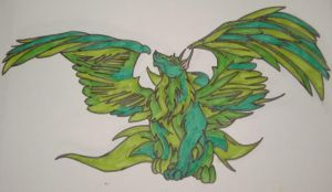 Emerald Wings by Peggy2011