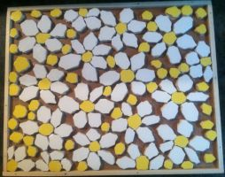 Daisy Mosaic Step 1 compleate by BabyFaceCrossbones