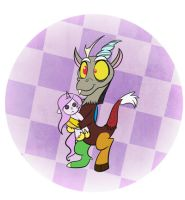 Buttons-young Discord by bunnimation