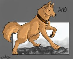 .::Wolfs Rain_Hige::. by WhiteSpiritWolf