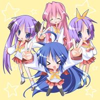 lucky star wallpaper by zeni25