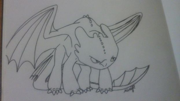 ITS TOOTHLESS. by G0warri0rfans
